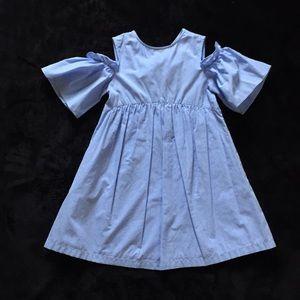 Zara Girls light blue summer dress